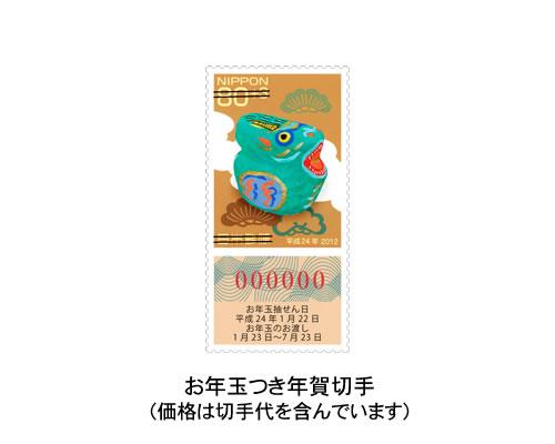 年賀カード お正月を盛り上げ隊(ポップアップタイプ) サポート画像3 (拡大)