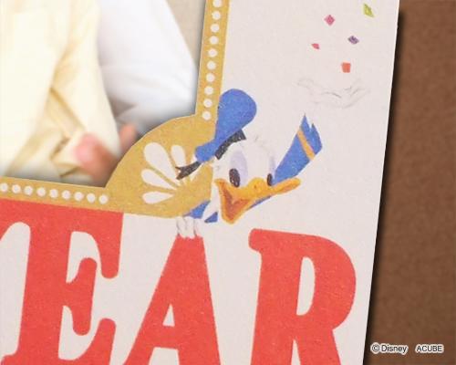 年賀カード ディズニーフォトスタンドタイプ サポート画像4 (拡大)